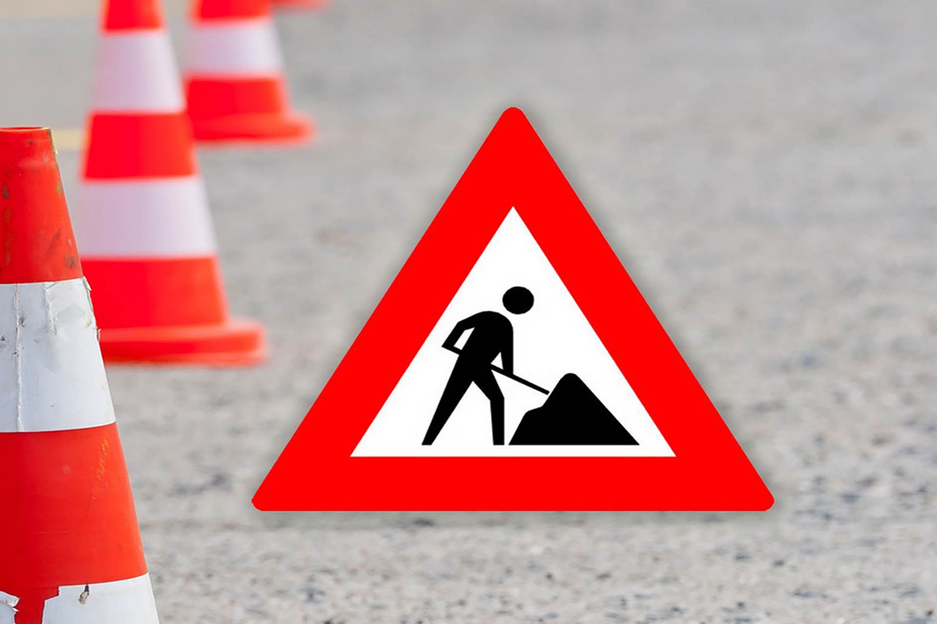 Road works Venetiëlaan (april - december 2019)