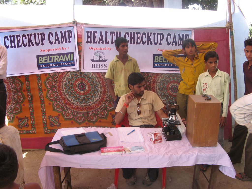 Health Camp Govindhpura (India)